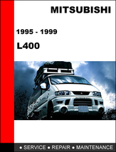 Mitsubishi L400 1995   1999 Oem Factory Service Repair Manual In Pdf Download - $14.95