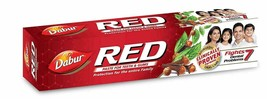 3 x Dabur Red Ayurvedic Paste Toothpaste Teeth & Gums Strong & Healthy 1... - $14.01