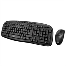 Adesso Keyboard WKB-1330CB 2.4GHz Wireless keyboard and Mouse Combo Retail - $795,13 MXN