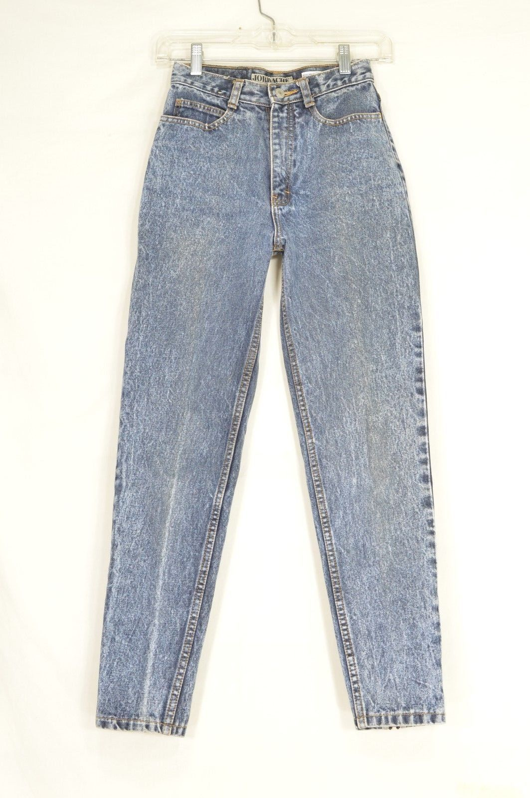 1 Jordache jeans 5/6 x 27 high waist mom vintage tapered zipper legs