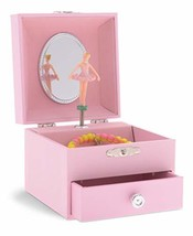 JewelKeeper Personalize-Your-Own Pink Musical Ballerina Jewelry Box with... - €14,80 EUR