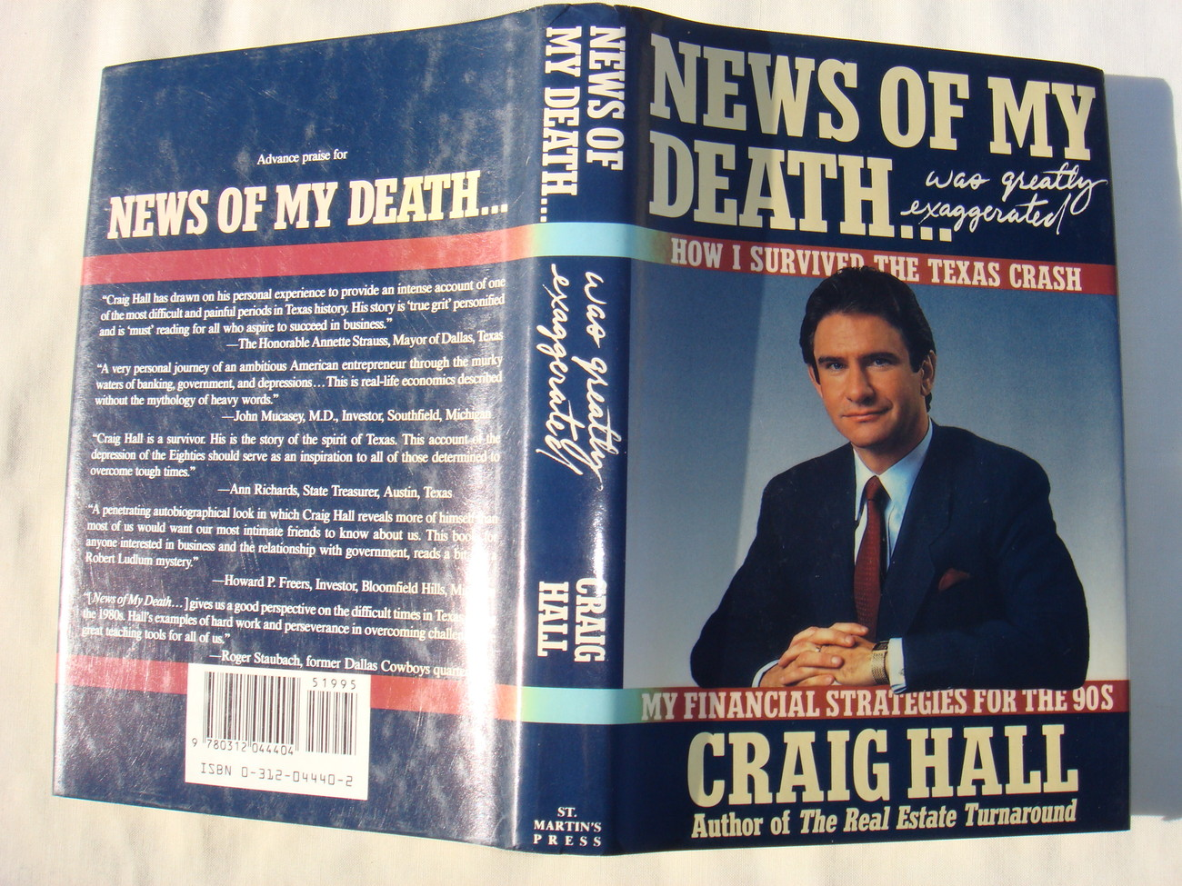 News of My Death Was Greatly Exaggerated by Craig Hall