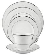 Lenox Opal Innocence Platinum Bone China 5-Piece Dish Set - $85.00