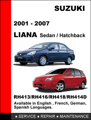 suzuki liana 2001 2007 oem factory service and 50 similar items rh bonanza com 2018 Suzuki Liana 1989 Suzuki Liana