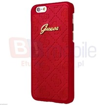 Guess Scarlett Hard Case - designer hybrid case for iPhone 7 (Red) Free P&P - $38.90