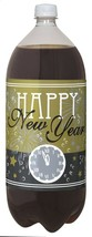 New Years Eve Holiday Beverage Soda 2 Liter Bottle Labels 4 Ct Party - $2.99