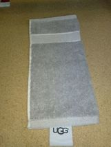 "UGG®  washcloth  Towel in Gray 12"" X 12"" new with out tags.  image 3"