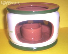 STANGL THISTLE CANDLE CHINA WARMER - $24.95