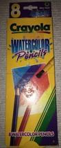 1997 Crayola 8ct Watercolor Colored Pencils 1 Pack - $9.85