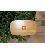 Longaberger Collectors Club First Membership Basket Tall Key Wooden Lid ... - $16.78