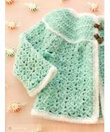 Y299 Crochet PATTERN ONLY Candyland Baby Sweate... - $6.45