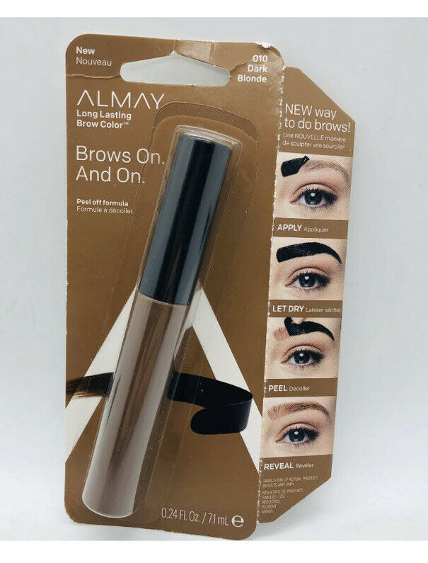 Primary image for Almay Long Lasting Brow Color The Brow Lives On 010 Dark Blonde Peel Off Formula