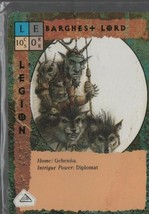 Two Barghest Lord - Blood Wars Collectible Card Game - TSR - Legion - 1993. - $0.97