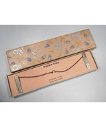 Estate Vintage Sterling Silver Diaper Clips w/ Original Box C2232 - $37.59