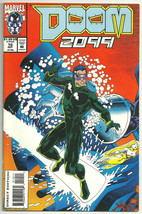 Doom 2099 10 Direct Edition Poster Included FN Condition  - $1.97