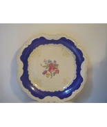 Schwarzenhammer Germany Bavaria Serving Platter Floral Scalloped - $33.52 CAD