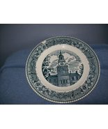 Cavalier Ironstone Royal China Blue White Dinner Plate - $7.99