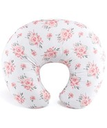 Pink Floral Nursing Pillow for Breastfeeding | Pillow & Nursing Pillow C... - $74.20