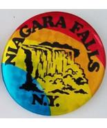 """NIAGARA FALLS N.Y. 2-1/4"""" Vintage  Pinback Button - $7.95"""