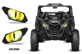 AMR Racing Can Am Maverick X3  UTV Headlight Graphics Eye Sticker Decals... - $18.95