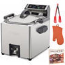 Waring Electric Rotisserie Turkey Fryer and Deep Fryer Steamer Bundle - €134,52 EUR