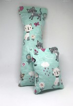 100% CatNip Filled Cat Pillow Toy Bundle Flowers Hearts and Clouds - $15.75 CAD