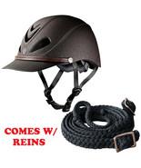Med Troxel Brown Dakota Maximum Vented All-Trail Horse Riding Helmet W/ ... - $82.07