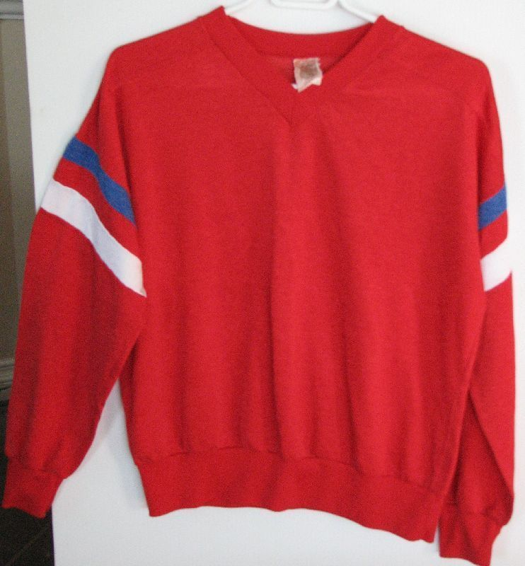 V Neck Adult S Montreal Canadiens Habs Hockey NHL Licensed Pullover Bonanza