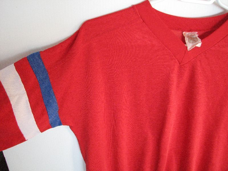 V Neck Adult S Montreal Canadiens Habs Hockey NHL Licensed Pullover