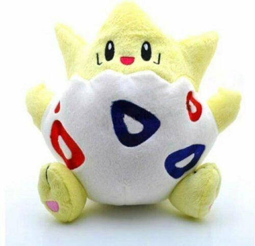 "One Pokemon Plush 8"" Togepi Doll Stuffed Animal Figure Soft Anime Toy"