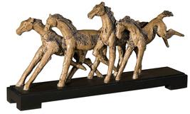 Uttermost Wild Horses Sculpture Decorative Home Decor - $228.00