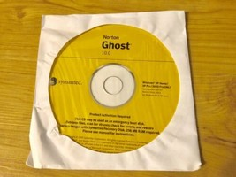 Norton Ghost Version 10.0 PC Computer Software New Sealed Disc w/ Produc... - $19.99