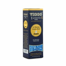 Vicco Turmeric Shaving Cream with Foam Base (With Sandalwood Oil) - 3x70gm - $15.35