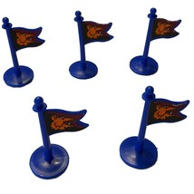 Lot of 5: Crossbows and Catapults, 1983 Lakeside, Barbarians Flag (blue) - $13.99