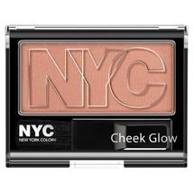 NYC Cheek Glow Powder Blush - Central Park Pink by NYC (English Manual) - $9.79