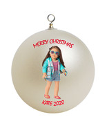 Personalized American Girl Joss Christmas Ornament Gift - $24.95