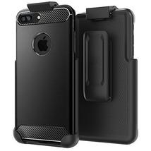 "Belt Clip Holster for Spigen Rugged Armor Case - iPhone 8 Plus 5.5"" (cas... - $14.94"