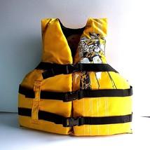 Maui & Sons Neoprene Life Water Ski Wakeboard Vest Youth 50-90lb III PFD - $12.38