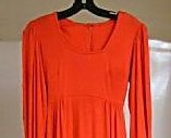 Orange Empire Flowing Spandex blend Long Gown S/M