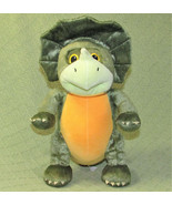 "KOHL'S CARES TRICERATOPS STUFFED ANIMAL 12"" 3 LITTLE DINOSAURS CHARLES F... - $14.85"