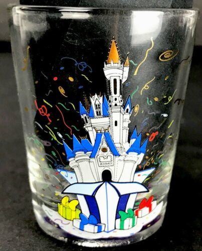Primary image for Disney World 30th Anniversary Shot Glass Collectible Shot Glass 2001 Castle