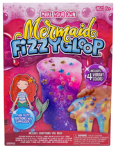 Make Your Own Mermaid Fizzy Gloop Slime Toy Games Family Fun Party Favors NIB
