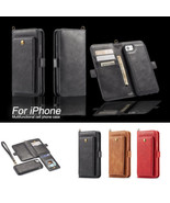 2in1 Leather Hand Strap Case & Magnetic Car Cover for iPhone 6 S 7 8 XR ... - $15.99