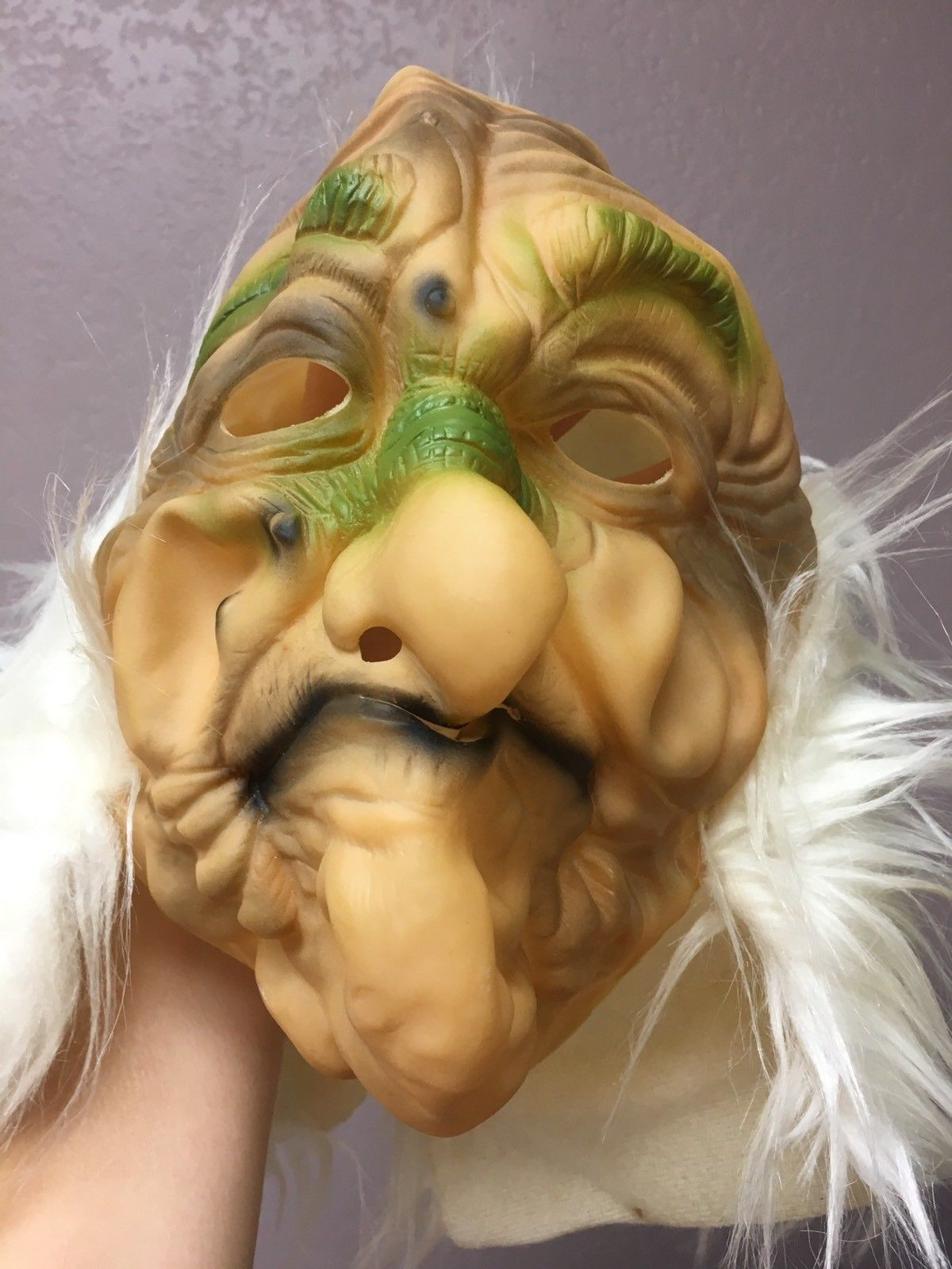 Primary image for Halloween Costume Mask Old Man Scary