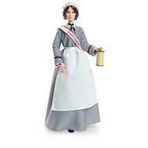 NEW- Barbie Inspiring Women Florence Nightingale Collectible Doll, WITH STAND - $28.99