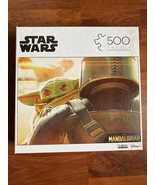 NEW Disney Star Wars The Madalorian Baby Yoda 500 Piece Jigsaw Puzzle Bu... - $16.82