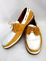 Timberland Men's Casual Boat Deck 2-Eye Moc Shoes Leather/Suede Size 12M - $53.03