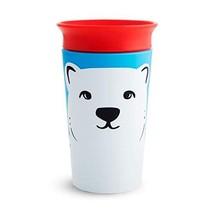 Munchkin Miracle 360 WildLove Sippy Cup, 9 Ounce, Polar Bear - $7.05