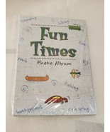 RARE! FUN TIMES PHOTO ALBUM BY NEW SEASONS SCRAPBOOK 3 RING BINDER RECIP... - $19.79