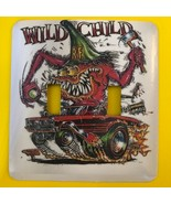 Ed Big Daddy Roth Rat Fink Metal Switch Plate Cars Double Toggle - $10.50